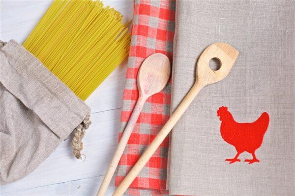 Набор полотенец Курочка(Towel set Chicken) - ViaLino