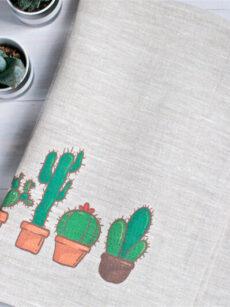 Набор кухонных полотенец из натурального льна ViaLino «Мексика»
